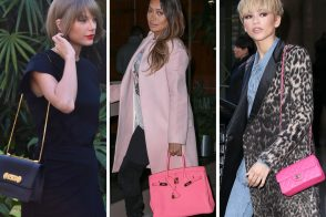 Celebs Stick to Their Favorite Brands & Bubblegum Pink