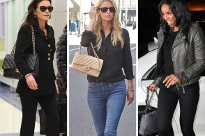 Saint Laurent & Chanel are the Favored Brands of Celebs Who Happen to be at LAX This Week