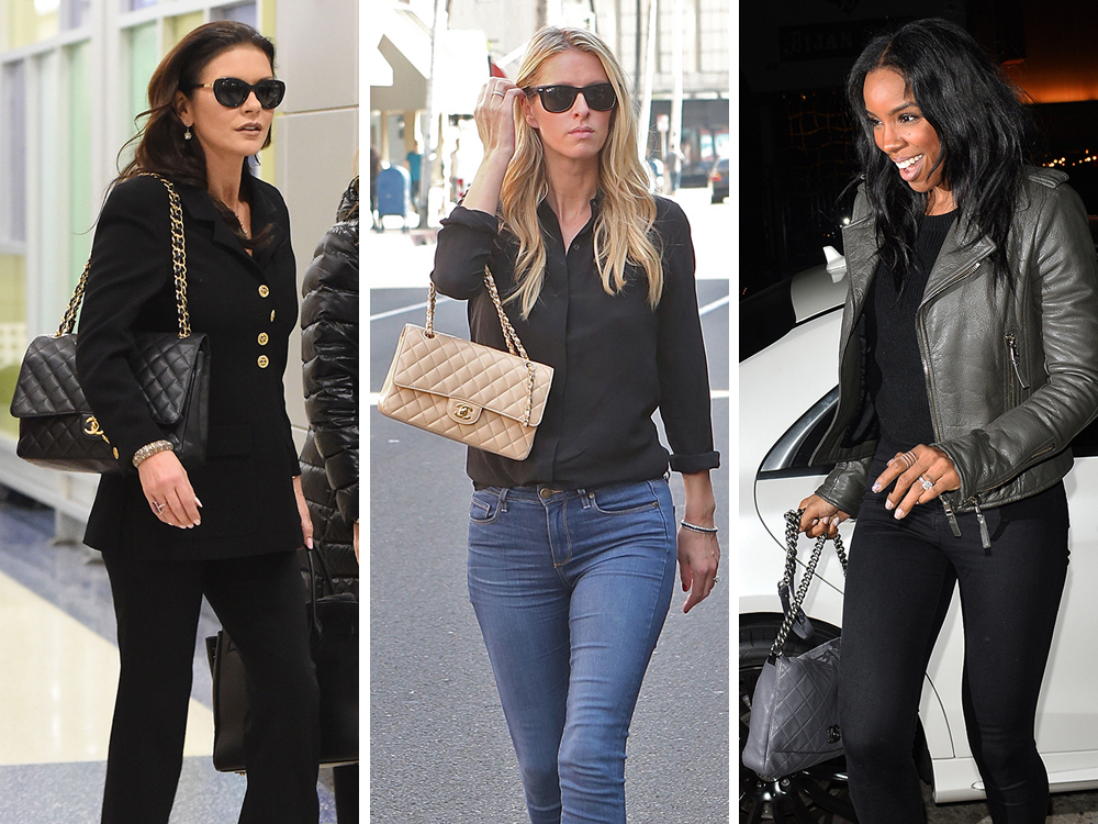 Saint Laurent Amp Chanel Are The Favored Brands Of Celebs