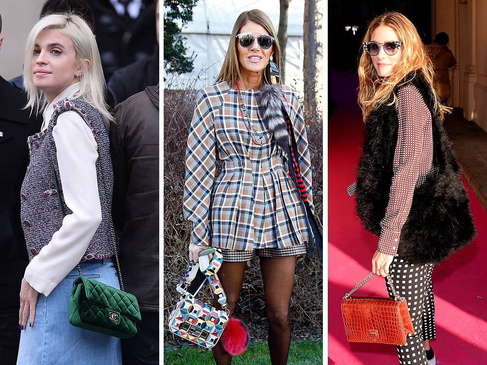 e63e18d6848e The Many Bags of Celebrity Guests at Paris Couture Week Spring 2016 ...