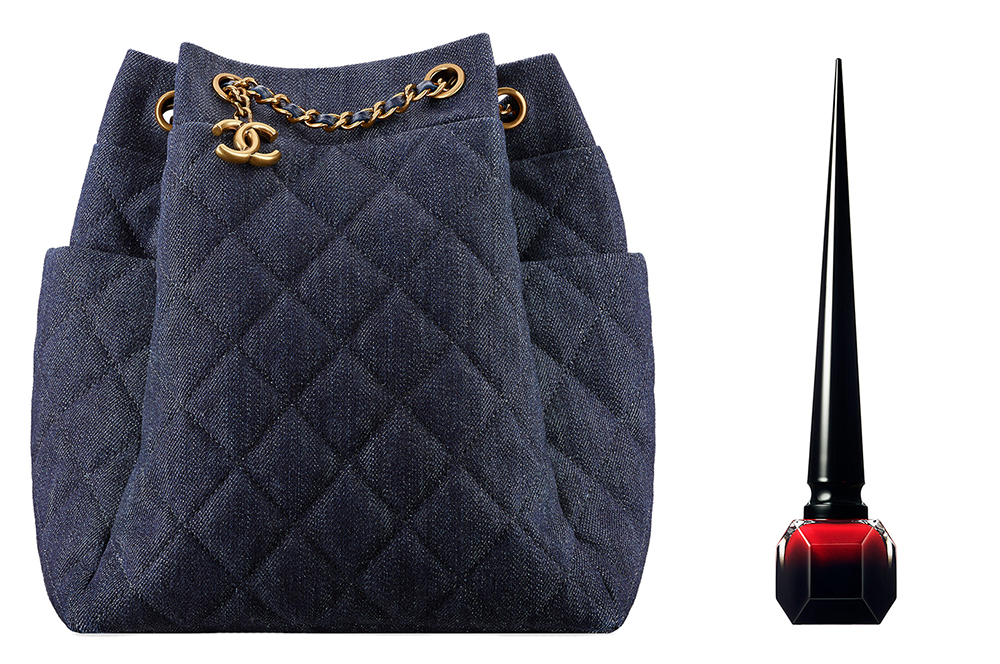 Chanel-Denim-Drawstring-Bag-Christian-Louboutin-Rouge-Louboutin-Nail-Lacquer