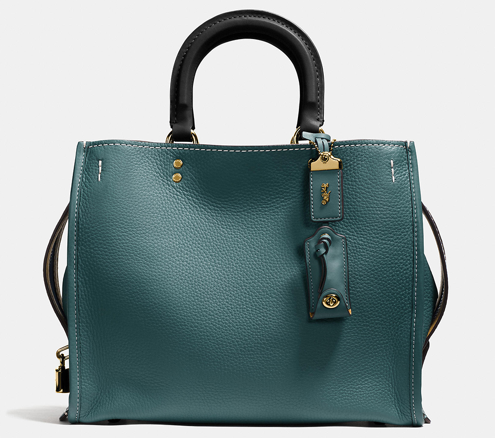 Coach-Rogue-Bag-Teal-Leather