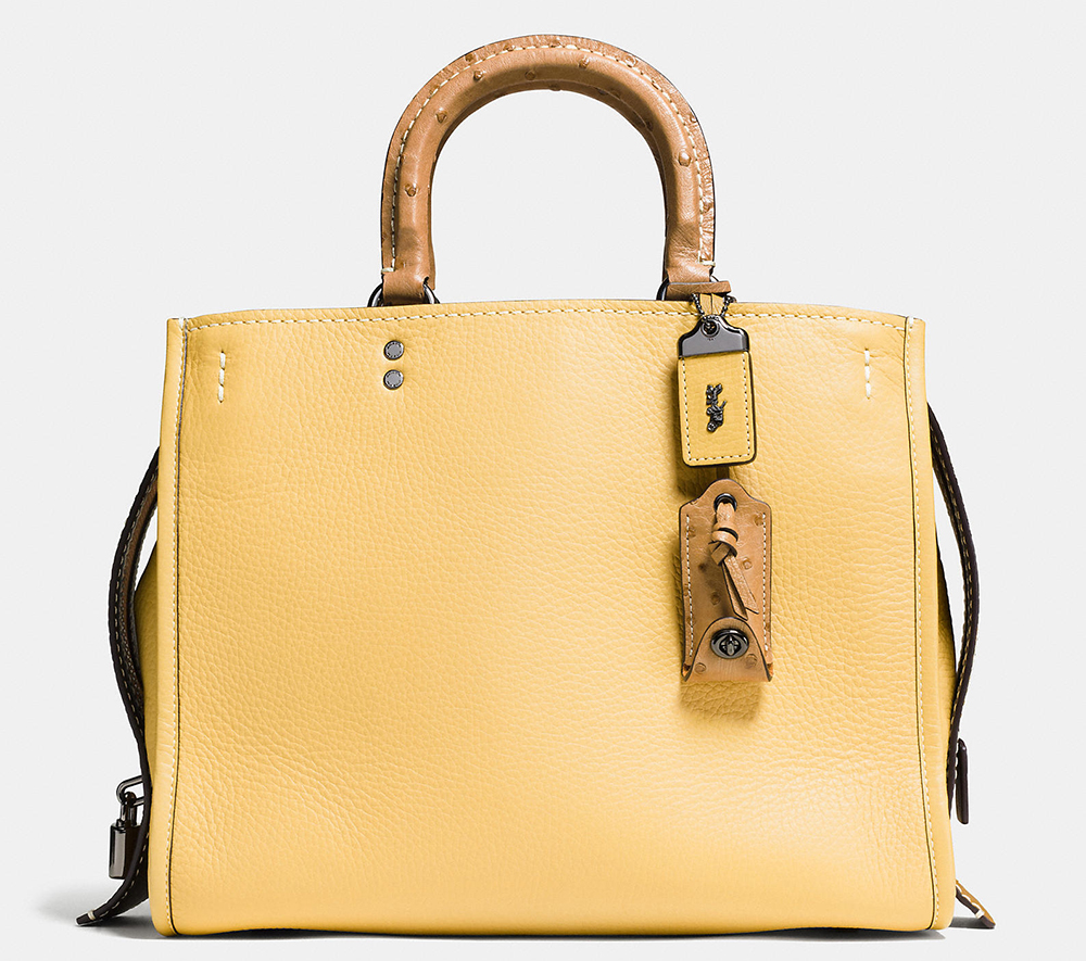 Coach-Rogue-Bag-Yellow-Ostrich