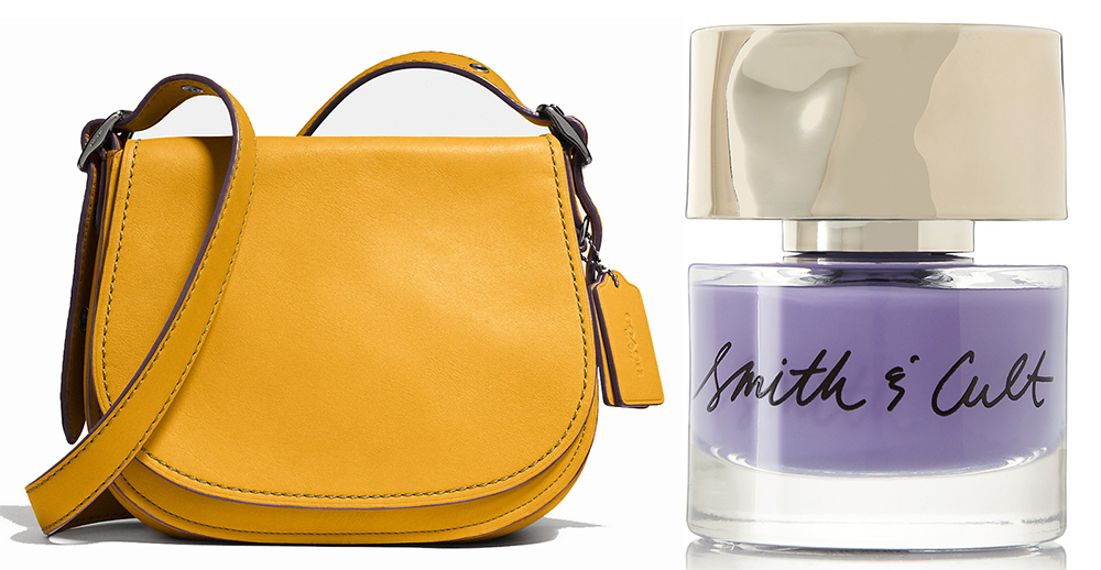 Coach-Saddle-Bag-and-Smith-and-Cult-Nail-Polish-in-Check-the-Rhyme