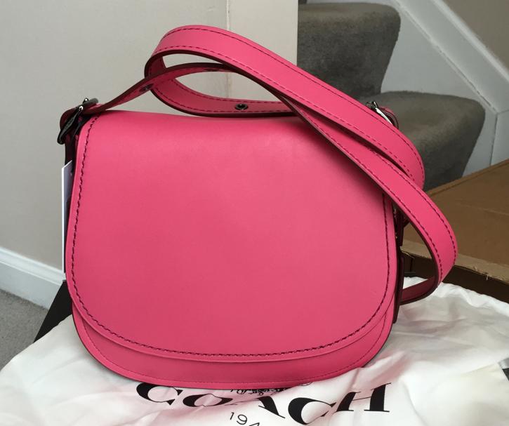 Coach-Saddle-Bag