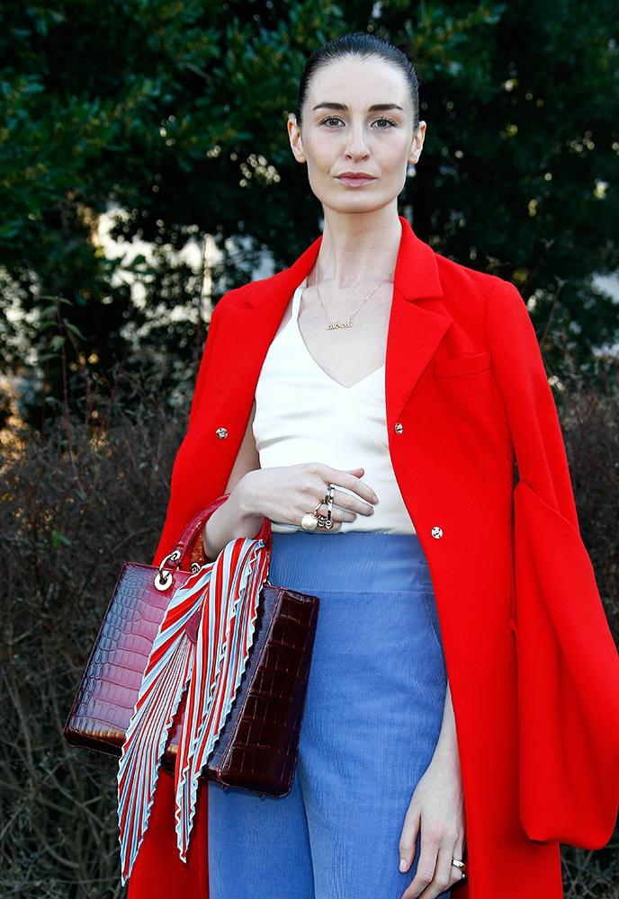 Erin-OConnor-Dior-Alligator-Lady-Dior-Bag