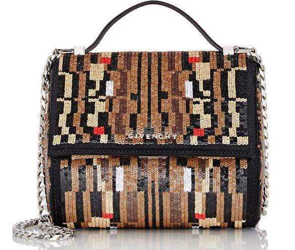 Givenchy-Sequined-Mini-Pandora-Box-Bag