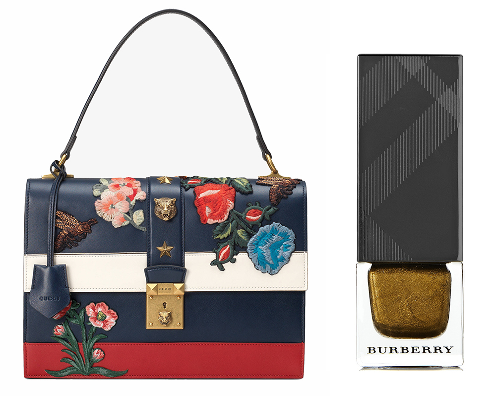 Gucci-Cat-Lock-Bag-and-Burberry-Nail-Polish-in-Antique-Gold