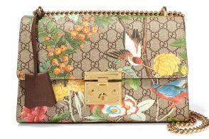 Gucci Padlock Printed Shoulder Bag