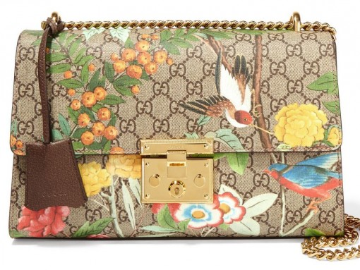 Gucci Padlock Printed Shoulder Bag
