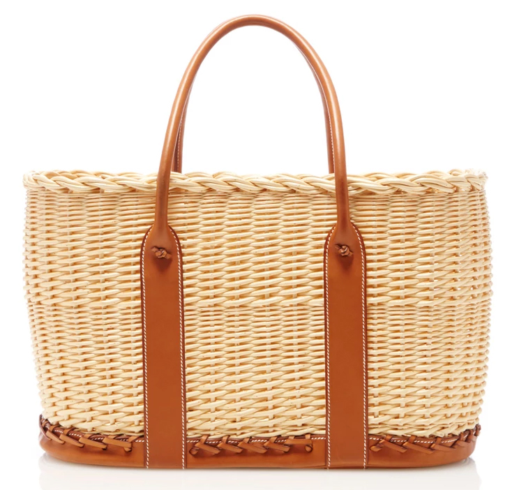 Hermes-Natural-Picnic-Garden-Party-Tote