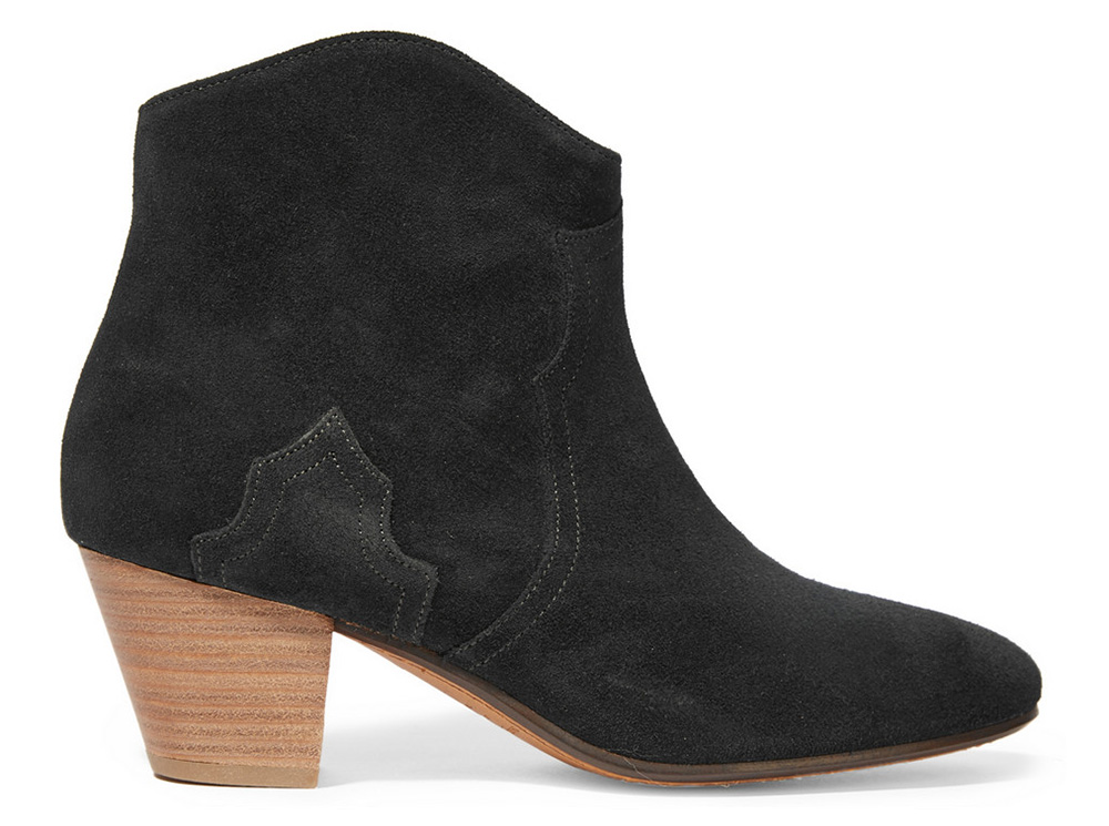 Isabel Marant The Dicker Suede Ankle Boot