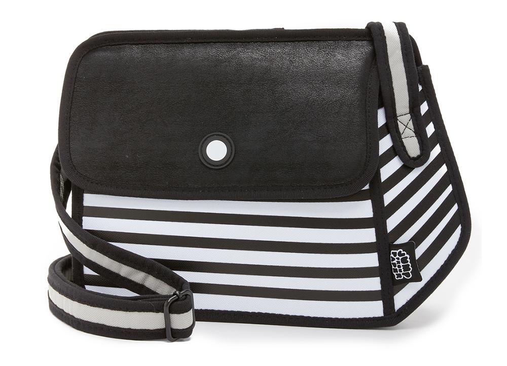 JumpFromPaper-Stripe-Shoulder-Bag