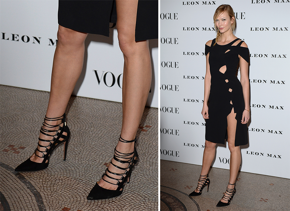 Karlie-Kloss-Aquazzura-Amazon-Lace-Up-Pumps