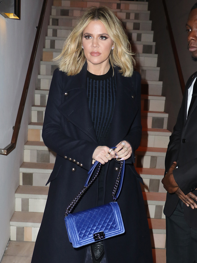 Khloe-Kardashian-Chanel-Velvet-Boy-Bag