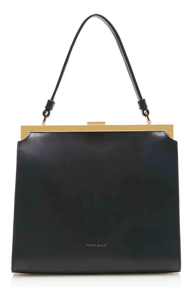 Mansur-Gavriel-Elegant-Bag-Black-Leather