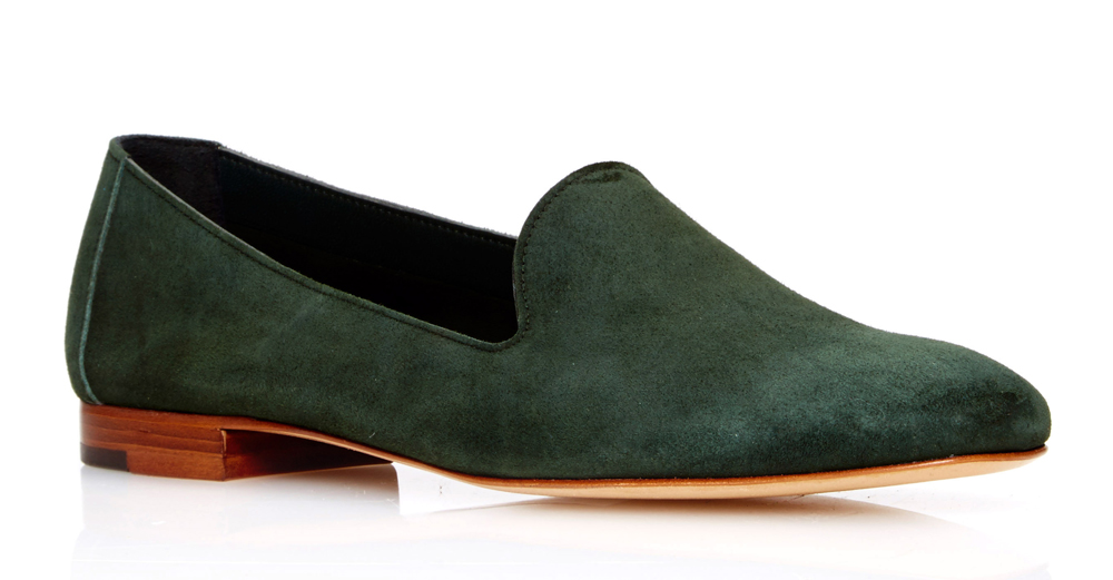 Mansur-Gavriel-Loafer-Green-Suede
