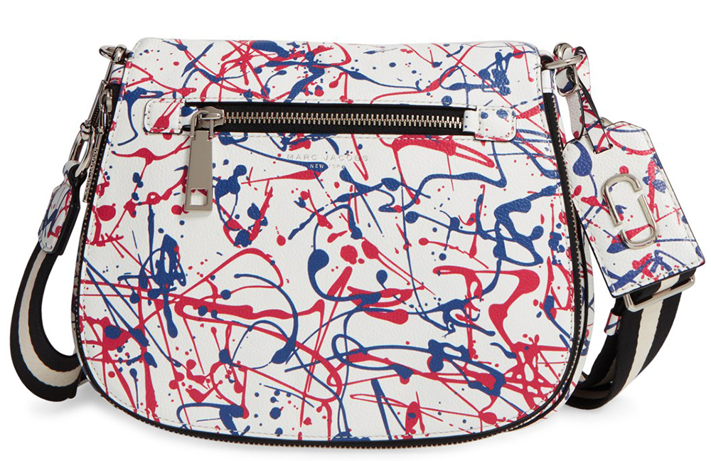 Marc-Jacobs-Splatter-Paint-Saddle-Bag