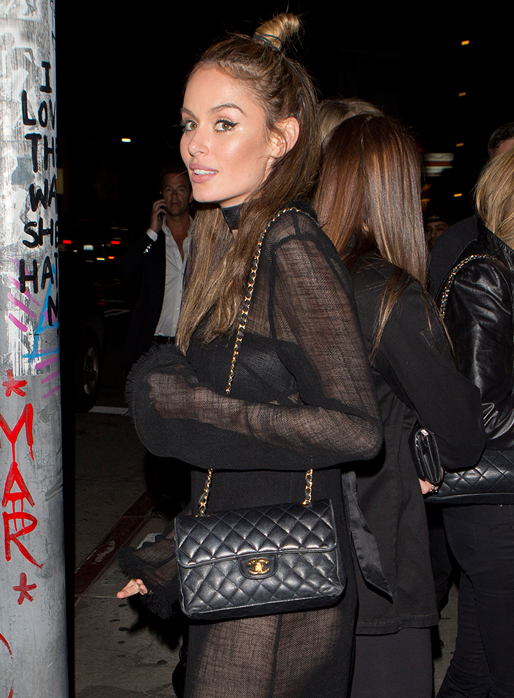 Nicole-Trunfio-Chanel-Flap-Bag