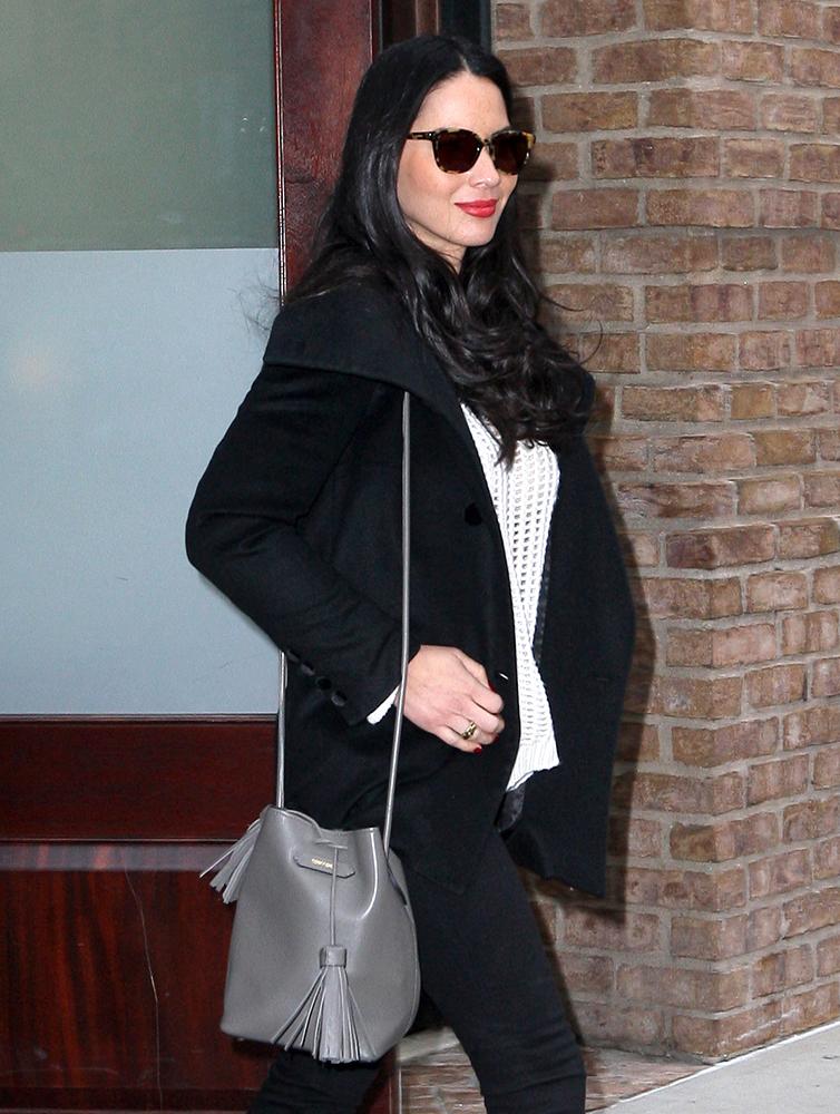 Olivia-Munn-Tom-Ford-Tassel-Bucket-Bag