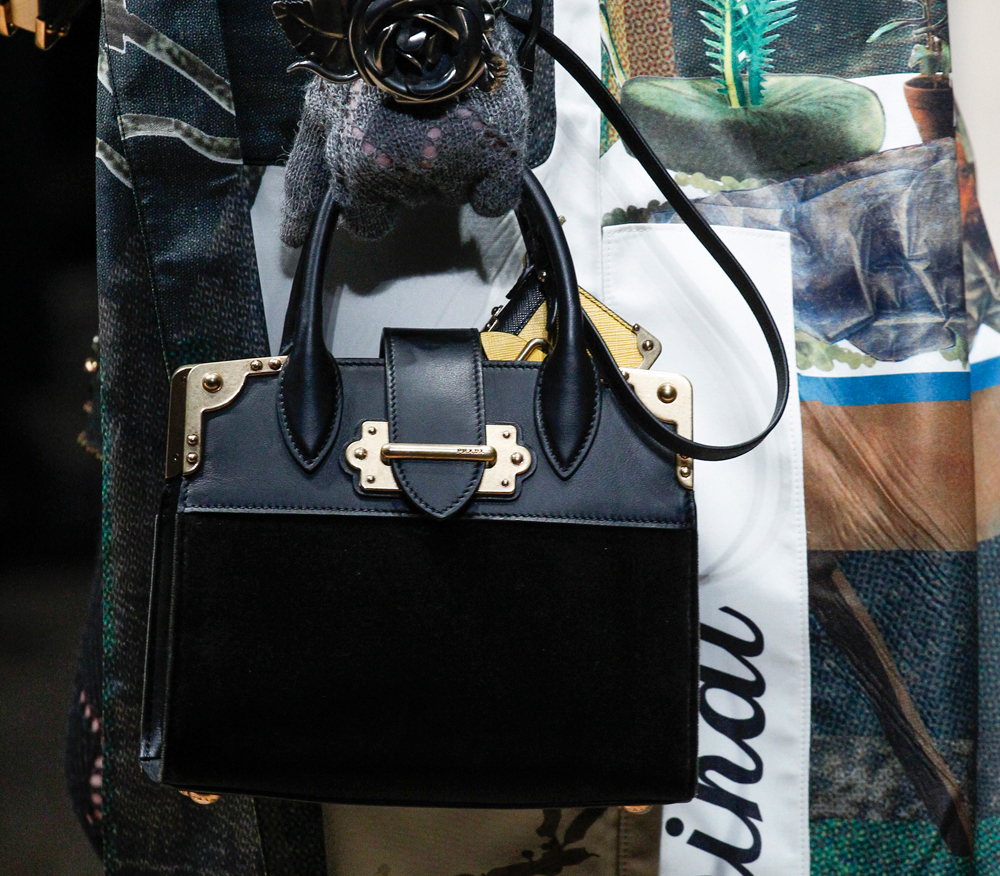 538fe8cc5ea0 Prada Launched Two Big New Bags on Its Fall 2016 Runway and They're ...