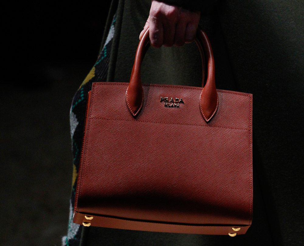 Prada Launched Two Big New Bags on Its Fall 2016 Runway ...