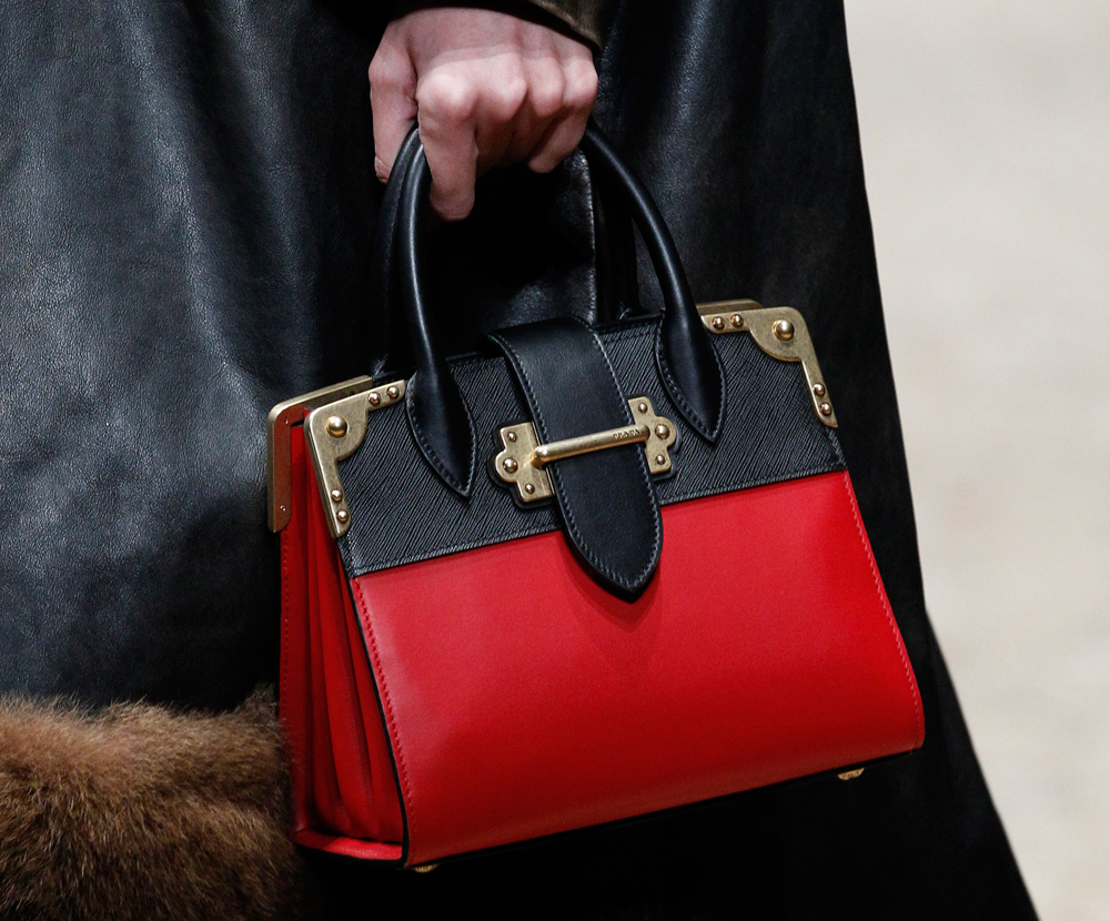 a5078ba2db97 Prada Launched Two Big New Bags on Its Fall 2016 Runway and They're ...