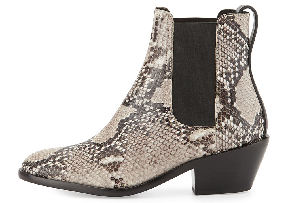 Rag and Bone Dixon Slip-On Leather Boot
