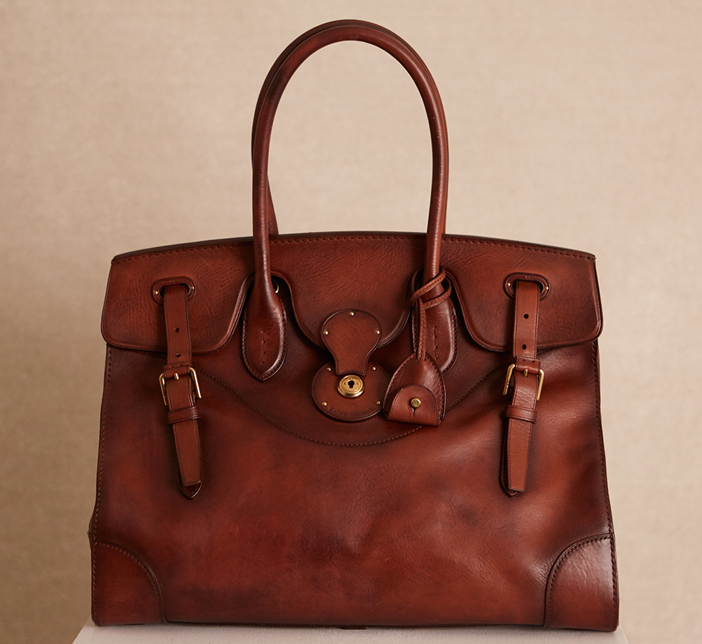 17c920d29 Ralph Lauren Offers the Most Sophisticated, Brown-Hued Bags for Fall ...