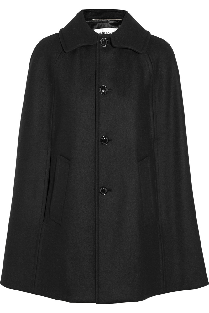 Saint-Laurent-Wool-Felt-Cape