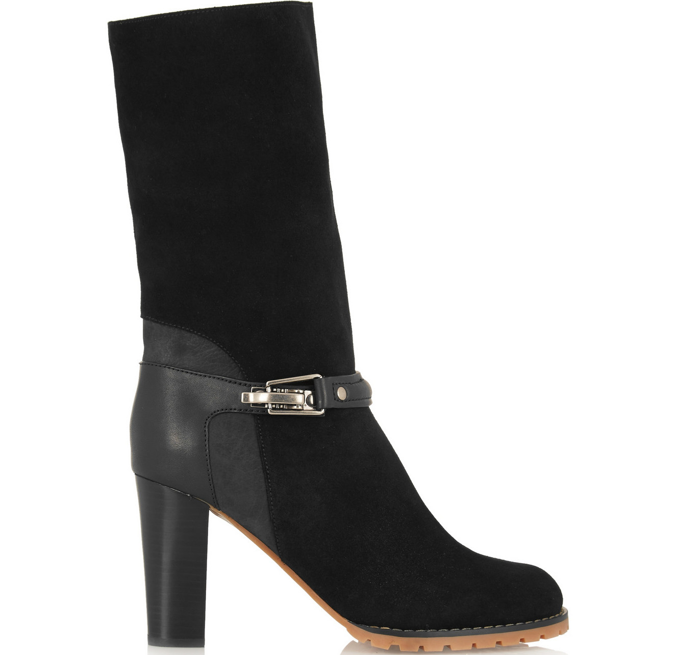 See by Chloe Suede and Leather Boots