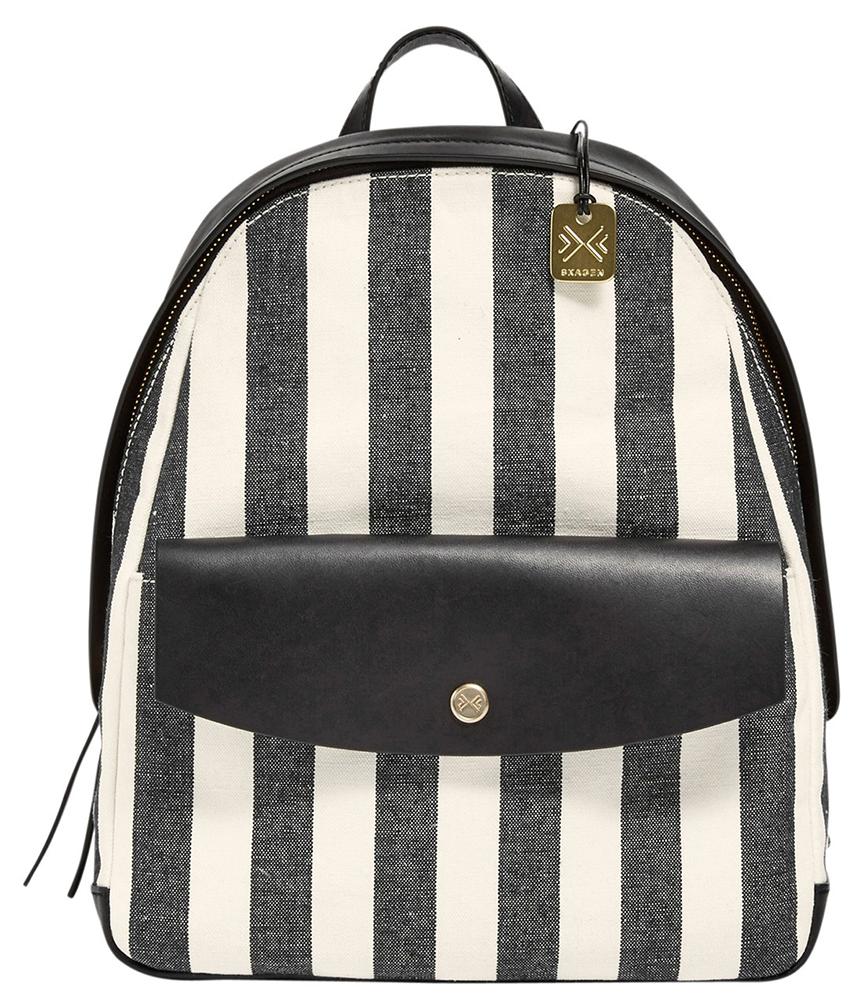 Skagen-Aften-Stripe-Canvas-Backpack