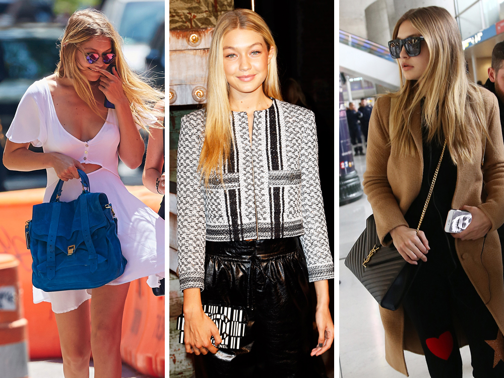 3320e0efc5 The Many Bags of Gigi Hadid - PurseBlog