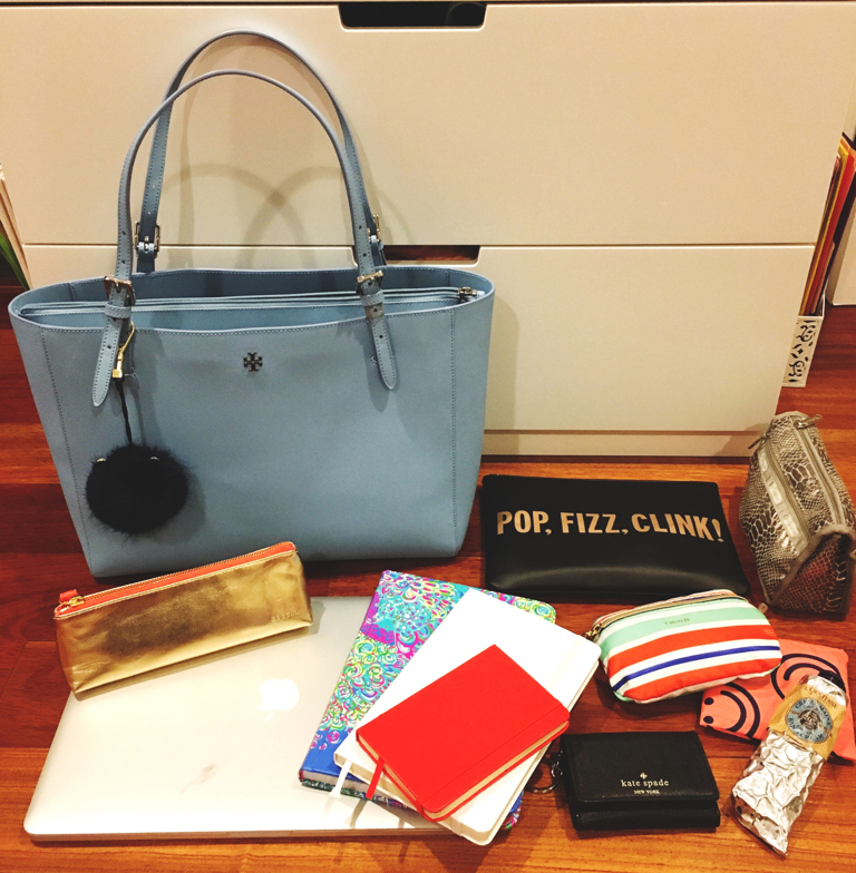 Tory-Burch-What's-In-Her-Bag