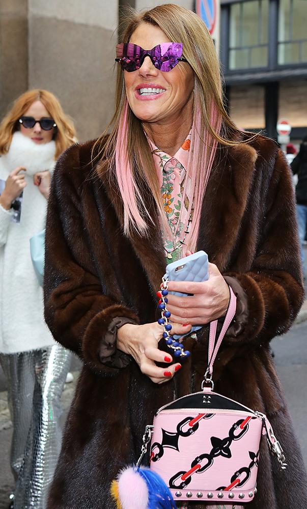 Anna-Dello-Russo-Louis-Vuitton-Mini-Lockit-Bag
