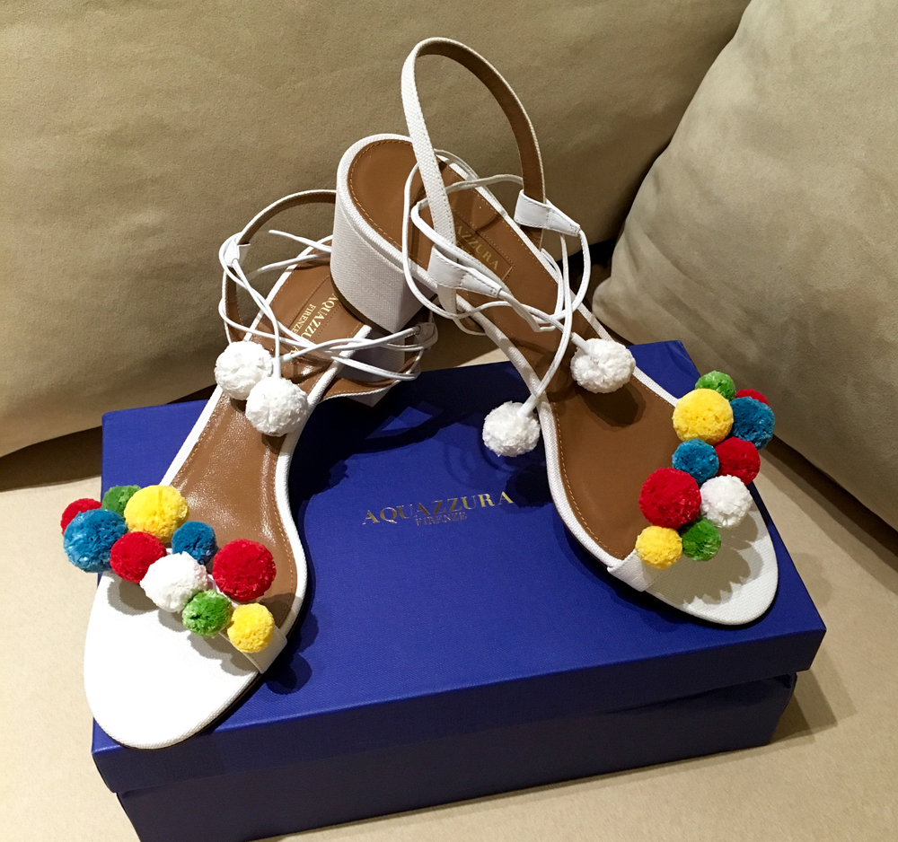 Aquazzura-Pom-Pom-Sandals