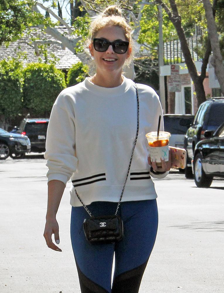 Ashley-Benson-Chanel-Mini-Bag