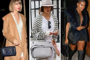 Celebs Won't Stop Hanging Out Together or Carrying New Bags from Tod's, Alexander Wang, & Gucci