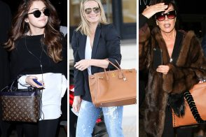 Celebs Show Off Brand New Bags from Tod's, Fendi & Louis Vuitton This Week