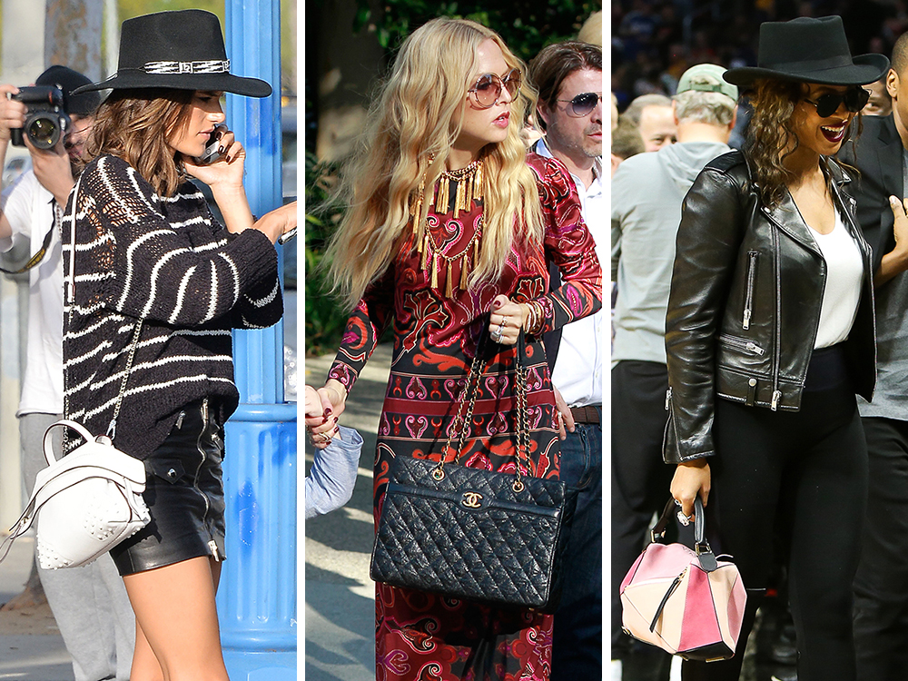 d64a186daa9c Supermodels + Beyoncé Showcase Handbags from Tod s