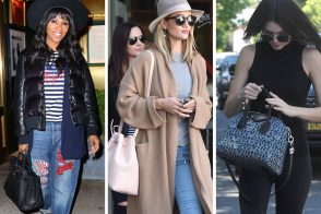Celebs Are Already Busting Out the Beach Totes & Spring Bucket Bags