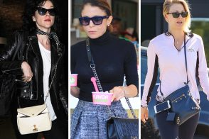Last Week, Celebs Lugged Out Their Favorite Old Chanels, Célines, Birkins and More