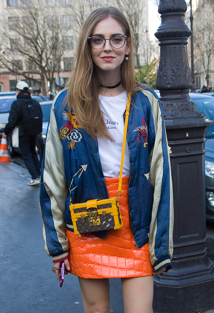 09aca1e3852a 80 Bags and the Celebs Who Carried Them at Paris Fashion Week Fall ...