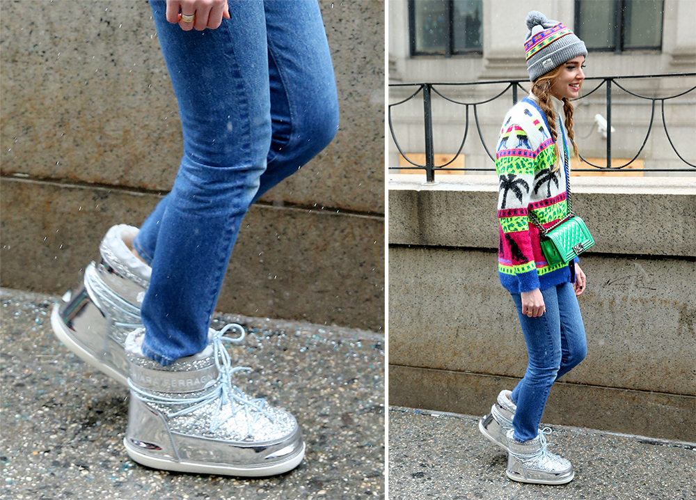 Ski Boot Bag >> Chiara Ferragni Had Fall 2016 Fashion Month's Most Interesting Shoes - PurseBlog