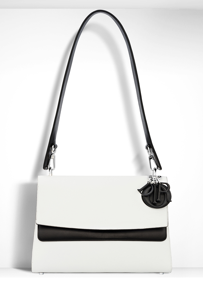 Christian-Dior-Be-Dior-Double-Flap-Shoulder-Bag-White