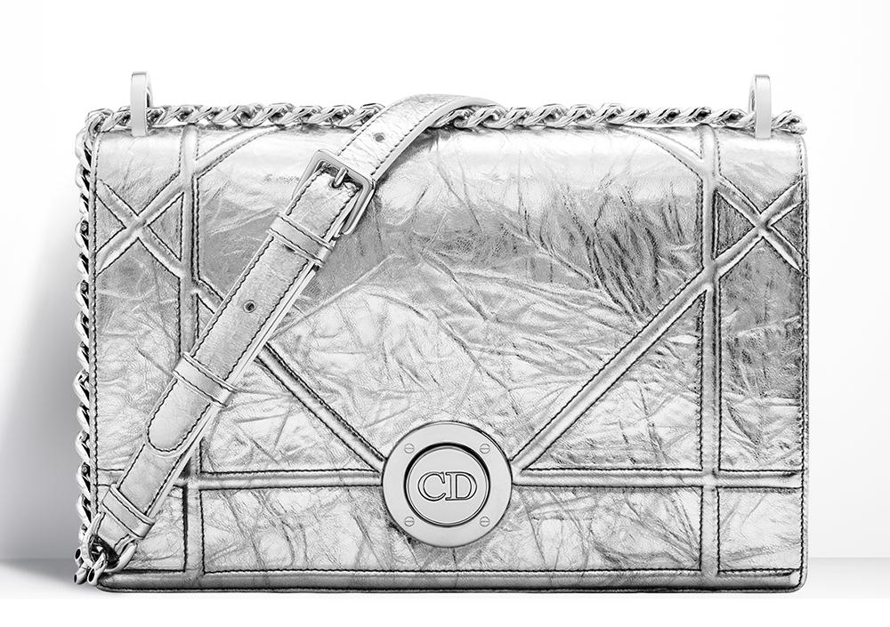 Christian-Dior-Diorama-Bag-Silver