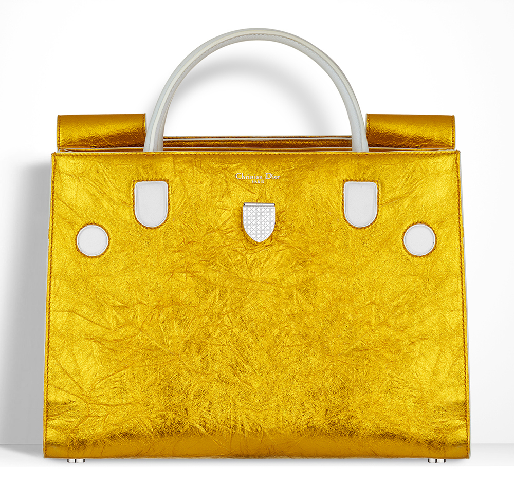 Christian-Dior-Diorever-Bag-Gold