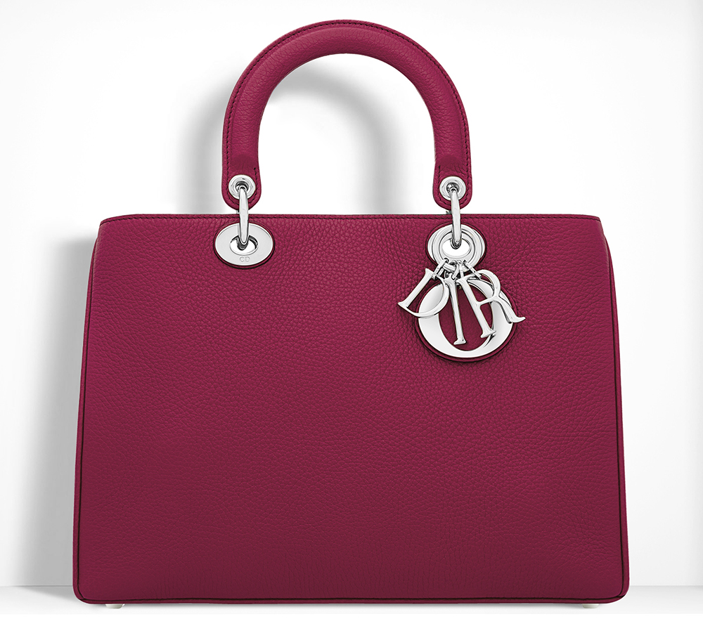 Christian-Dior-Diorissimo-Bag-Cherry