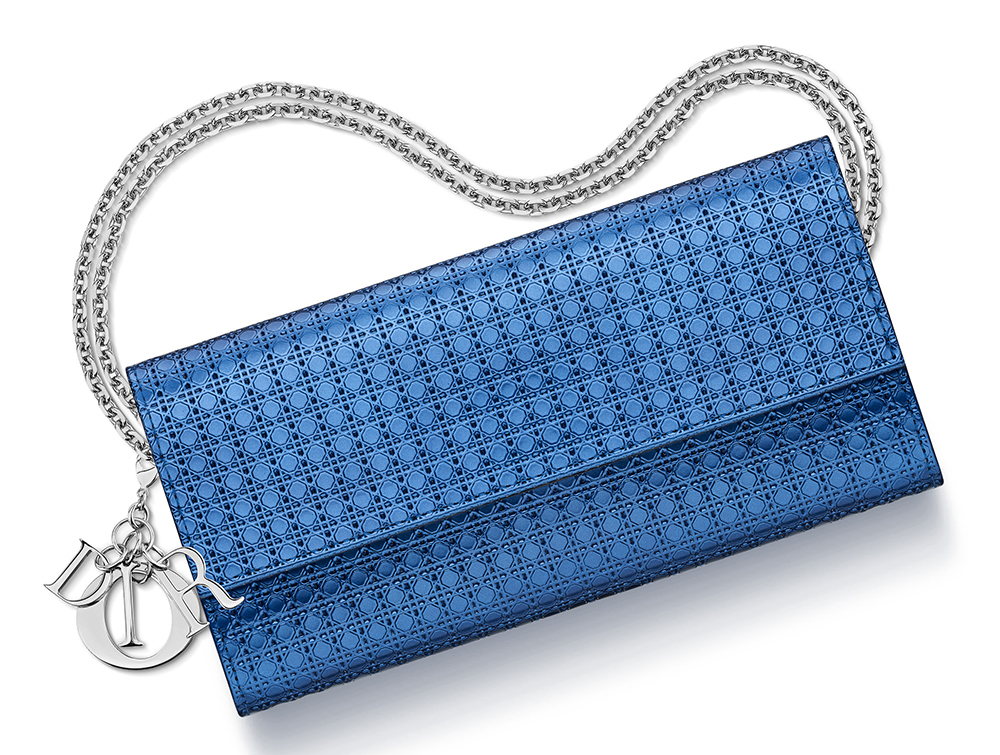 Christian-Dior-Lady-Dior-Croisiere-Wallet-Blue
