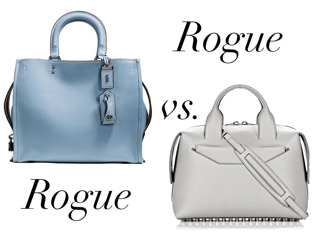 0b4f249b3cea Bag Battles  The Coach Rogue Bag vs. The Alexander Wang Rogue Bag ...